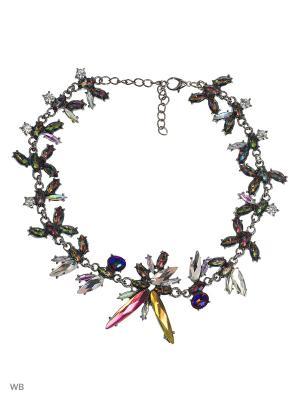 Ожерелье ARFUGIX. Цвет: фиолетовый, синий