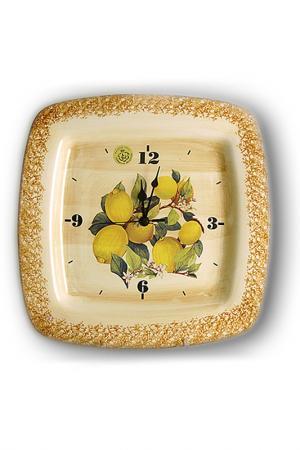 Часы Итальянские лимоны LCS. Цвет: мультицвет