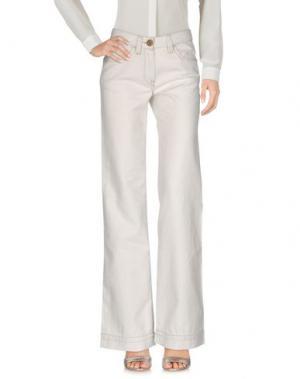 Повседневные брюки MURPHY & NYE. Цвет: светло-серый