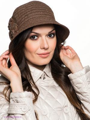 Шляпа Betmar. Цвет: коричневый