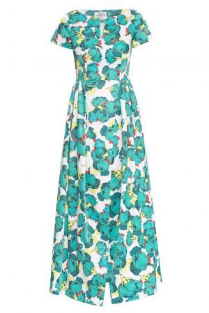 Платье 159376 Y.amelina. Цвет: разноцветный