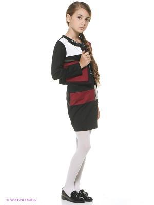 Жакет Vitacci. Цвет: черный, бордовый