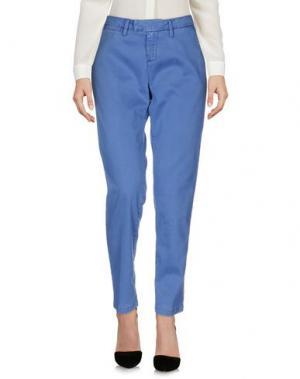 Повседневные брюки HAIKURE. Цвет: синий