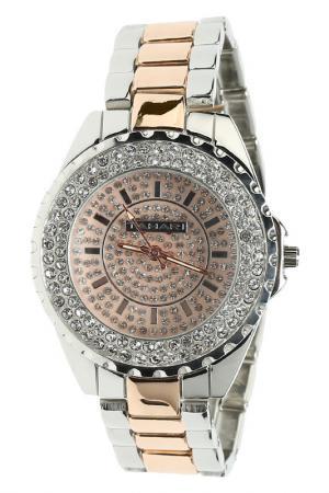 Часы TAHARI. Цвет: 2 tone silver, rose