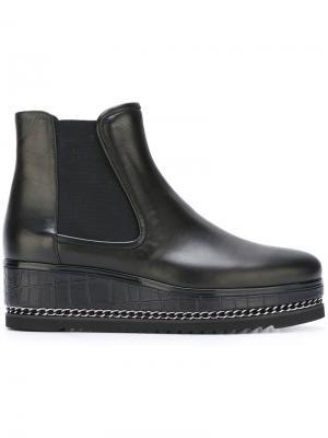 Platform Chelsea boots Loriblu. Цвет: чёрный