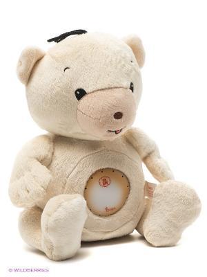 Интерактивная игрушка Медвежонок со световыми и звуковыми эффектами OUAPS. Цвет: бежевый