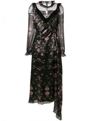 Платье Pankhurst Preen By Thornton Bregazzi. Цвет: чёрный