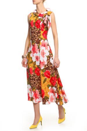 Платье Alina Assi. Цвет: оранжевый