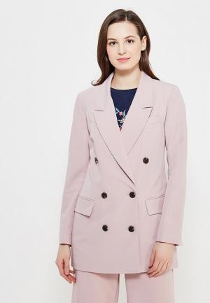 Пиджак Zarina. Цвет: розовый