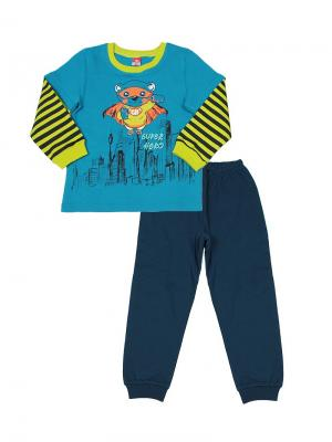 Пижама Cherubino. Цвет: синий