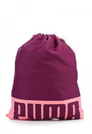 Мешок PUMA. Цвет: фиолетовый