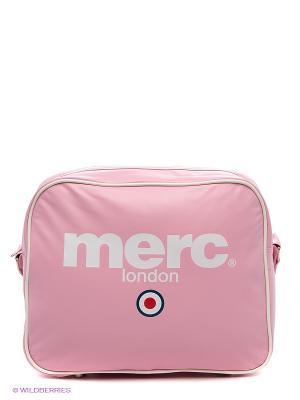 Сумка MERC. Цвет: бледно-розовый