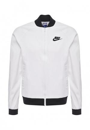 Куртка Nike. Цвет: белый