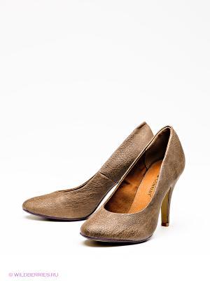 Туфли Friis. Цвет: коричневый