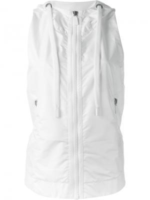 Куртка без рукавов Mile  No Ka Oi Ka'. Цвет: белый