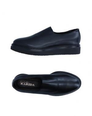 Низкие кеды и кроссовки FRATELLI KARIDA. Цвет: черный