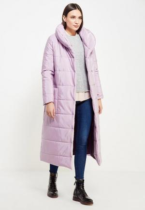 Куртка утепленная TrendyAngel. Цвет: фиолетовый