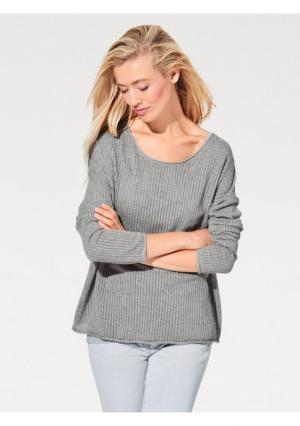 Пуловер B.C. BEST CONNECTIONS by Heine. Цвет: голубой
