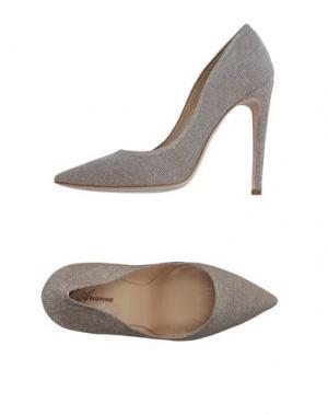 Туфли L'ARIANNA. Цвет: серый