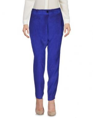 Повседневные брюки SILENT DAMIR DOMA. Цвет: ярко-синий