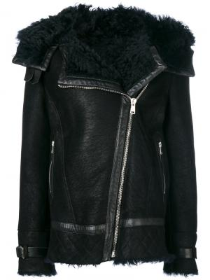 Marsh shearling jacket Belstaff. Цвет: чёрный