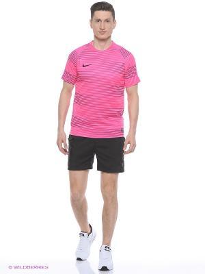 Футболка FLASH GPX SS TOP 1 Nike. Цвет: розовый