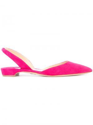 Балетки Rhea Paul Andrew. Цвет: розовый и фиолетовый