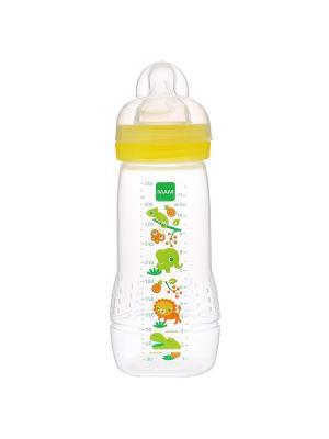 Бутылочка для кормления 330 мл MAM. Цвет: зеленый