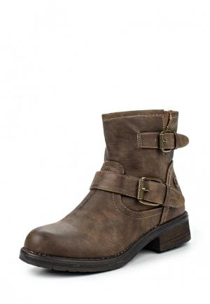 Ботинки Niko. Цвет: коричневый