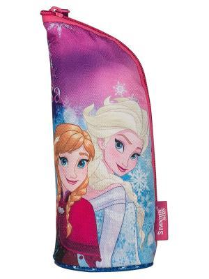 Пенал. Disney Frozen. Цвет: голубой, сиреневый