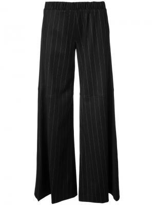 Широкие брюки Daley Hellessy. Цвет: чёрный