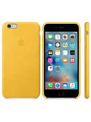 Чехол (клип-кейс) iPhone 6S Plus MMM32ZM/A желтый Apple. Цвет: желтый