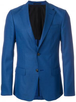 Классический блейзер Z Zegna. Цвет: синий