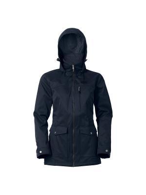 Куртка BELUGA BAY Jack Wolfskin. Цвет: темно-синий
