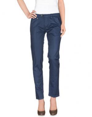 Повседневные брюки DW⁵. Цвет: грифельно-синий