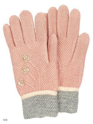 Сенсорные перчатки Punta. Цвет: бледно-розовый