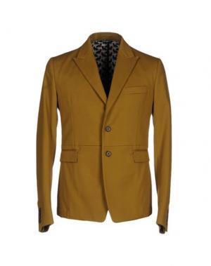 Пиджак DOLCE & GABBANA. Цвет: охра