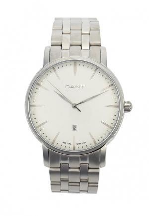 Часы Gant. Цвет: серебряный