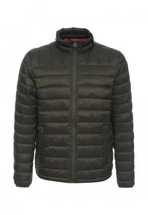 Куртка утепленная Dockers. Цвет: хаки
