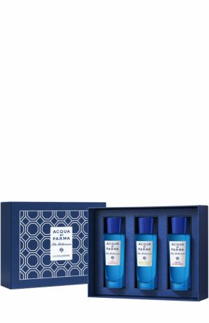 Набор Blu Mediterraneo: Fico, Bergamotto, Mirto Acqua di Parma. Цвет: бесцветный