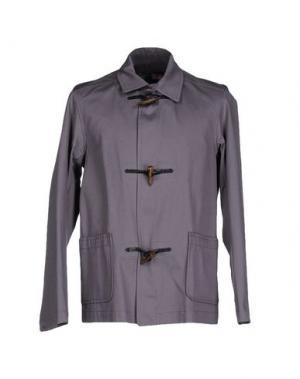 Куртка GLOVERALL. Цвет: серый