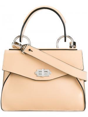 Маленькая сумка-тоут Hava Proenza Schouler. Цвет: телесный