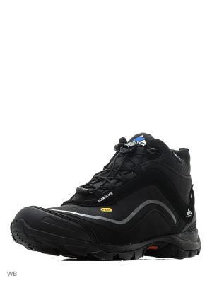 Ботинки SEAMASTER EDITEX. Цвет: черный