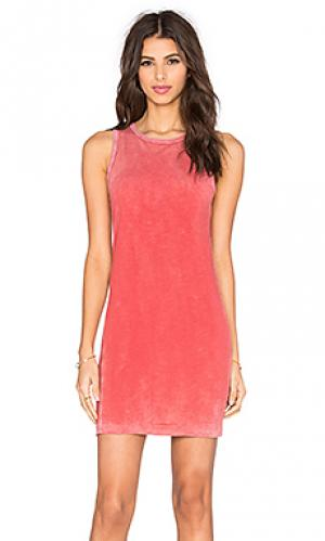 Платье-майка spector TYLER JACOBS. Цвет: розовый