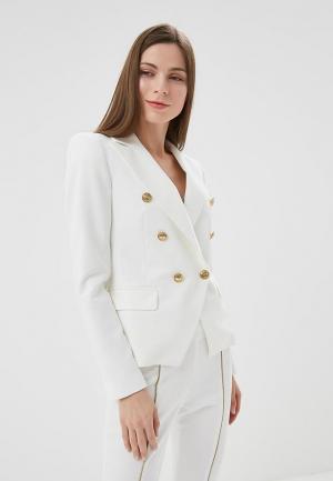 Жакет Rinascimento. Цвет: белый
