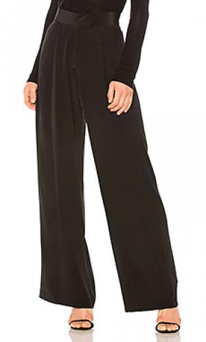 Широкие брюки Michelle Mason. Цвет: черный