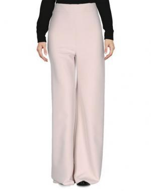 Повседневные брюки LE RAGAZZE DI ST. BARTH. Цвет: голубиный серый