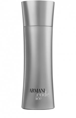 Туалетная вода Armani Code Ice Giorgio. Цвет: бесцветный