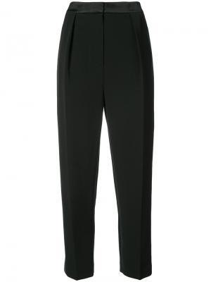Зауженные брюки Roksanda. Цвет: чёрный