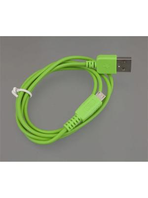 Usb кабель Pro Legend micro Usb,  зеленый, 1м. Цвет: зеленый